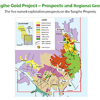 Sangihe Gold Project – Prospects and Regional Geology