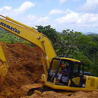 East Asia Minerals EAS — Sangihe Gold Project — Excavating Sample Trenches
