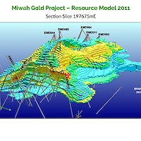 Miwah Gold Project – Resource Model 2011