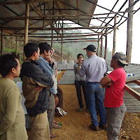 East Asia Minerals EAS — Miwah Gold — Meeting in the Sample Shack